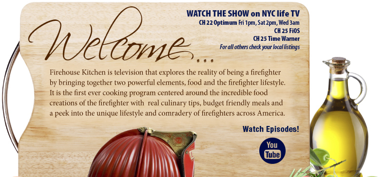 Firehouse Kitchen Show Welcome